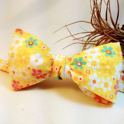 Sunflower Bow tie