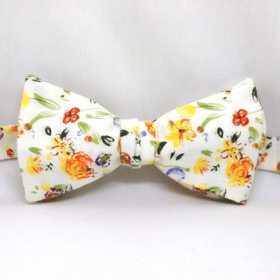 Floral Medley Bow Tie