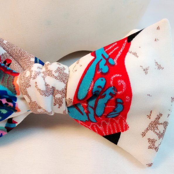 African Tribal Bow Tie