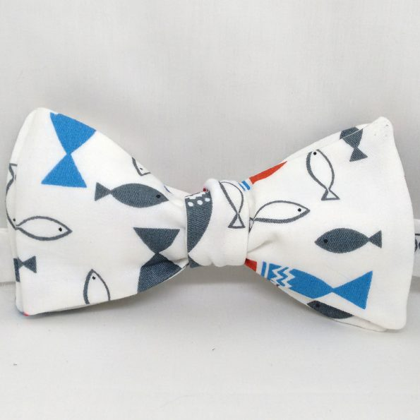 Catch a Fish Bow Tie