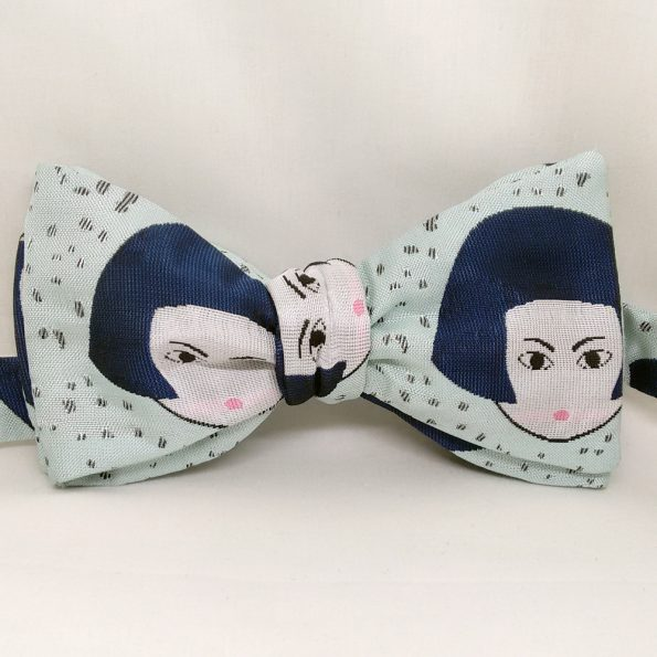 Doll Face Bow Tie
