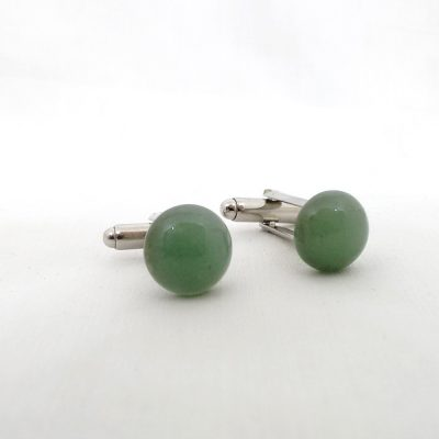 Green Aventurine Cufflinks