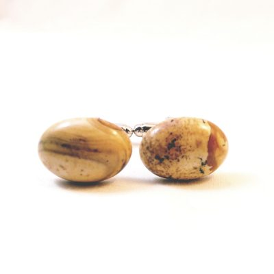 Yellow Jasper Cufflinks